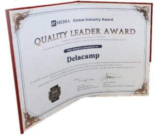 DELACAMP was awarded the Quality Leader Award