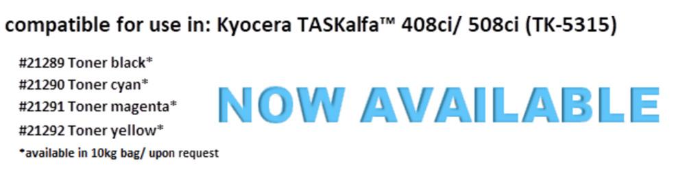Toner for use in Kyocera TK 5315 @Delacamp