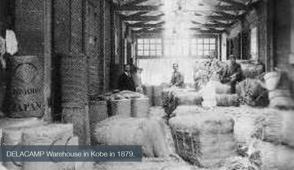 Delacamp warehouse in Kobe